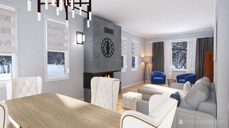 Johanne Dufort Interior Design Render