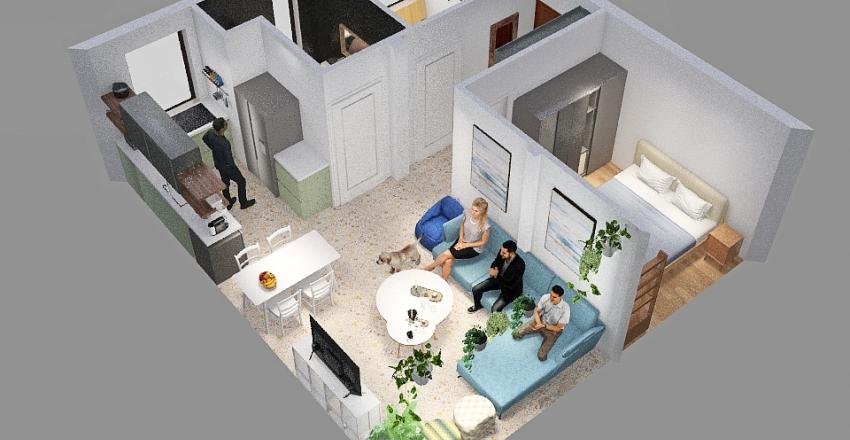 NEHAMIA 18 Halufa 3 Interior Design Render
