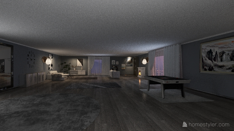 Home dekor Interior Design Render
