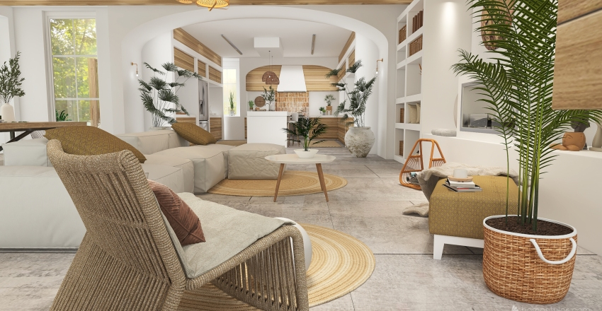 Willow Estate Interior Design Render