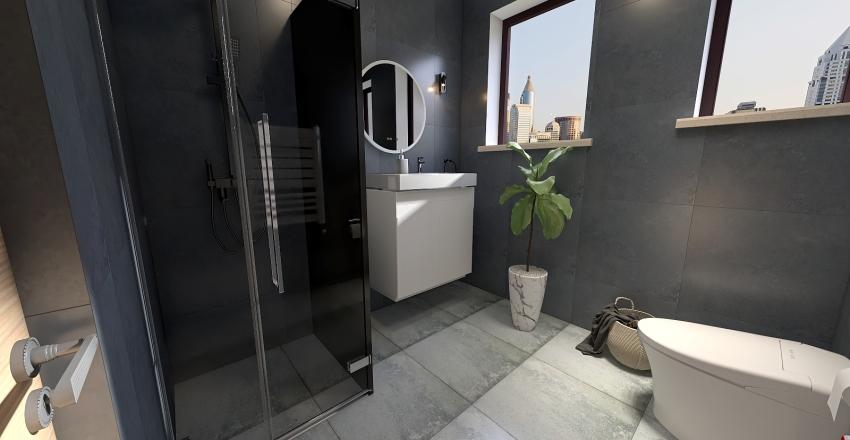 Minimal Rustic Bathroom_vs2 Interior Design Render