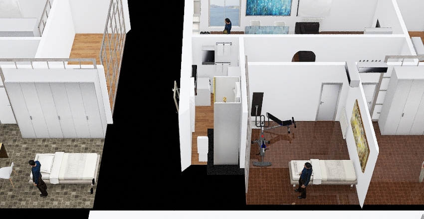 Casalecchio Tripoli 3.3.4 Interior Design Render