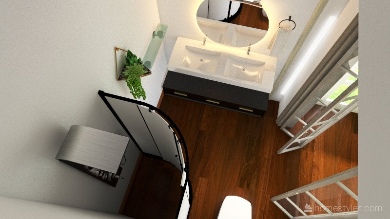 Tiny Home Interior Design Render