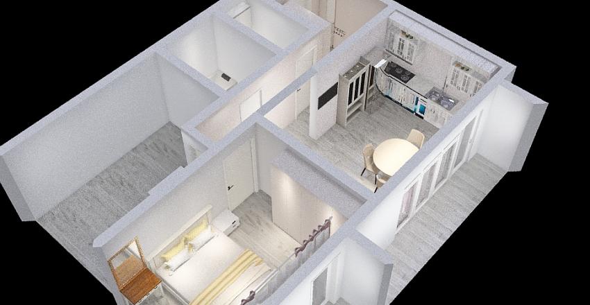 Квартира другая детская Interior Design Render