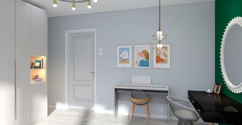 Flat 17 Interior Design Render