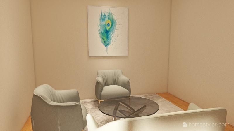 a luxury city apartment    Interior Design Render