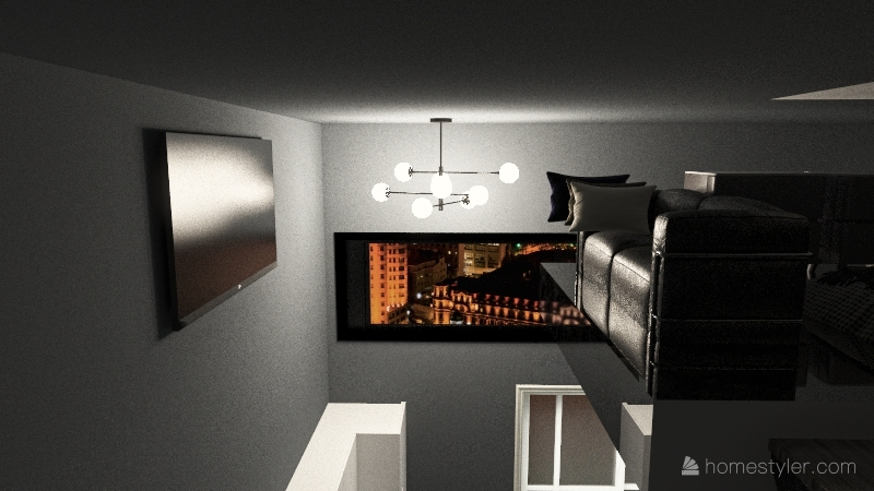 Bentley Johnson - Tiny Home Interior Design Render