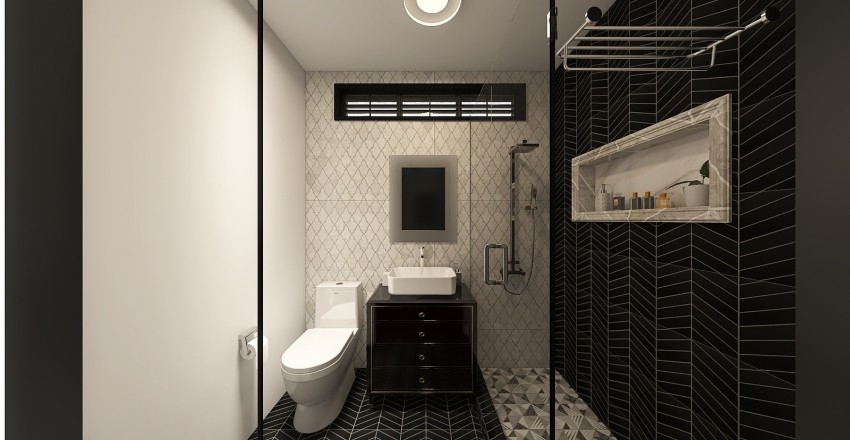 AD's Bathroom Renovation 2 Interior Design Render