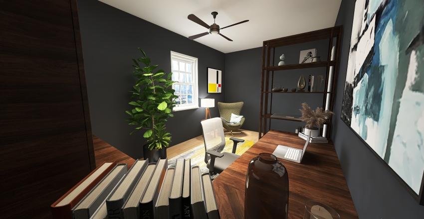 MJS Office Redesign Interior Design Render