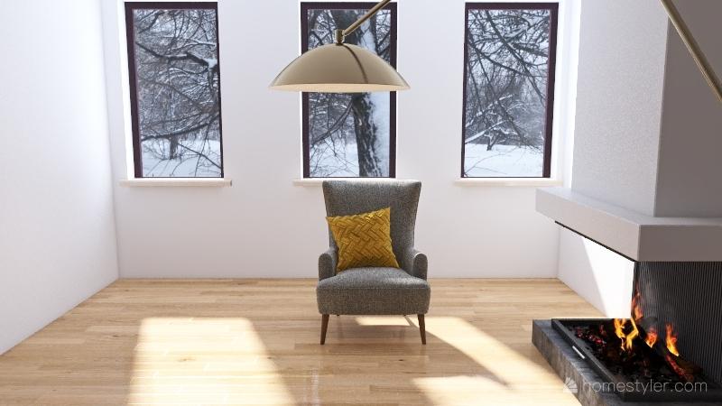014 зима Interior Design Render