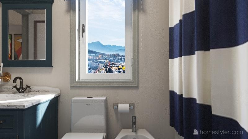 neutral colors home Interior Design Render