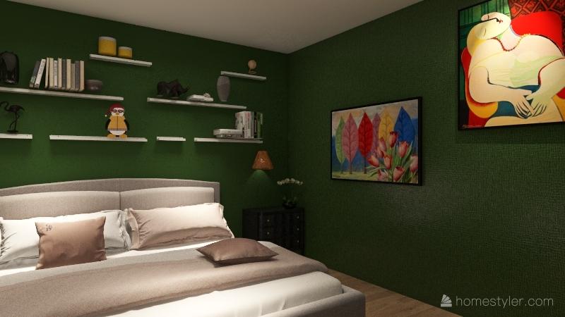 House Flip Interior Design Render