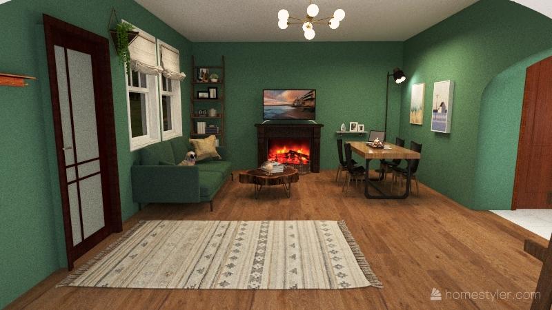 house plan project Interior Design Render