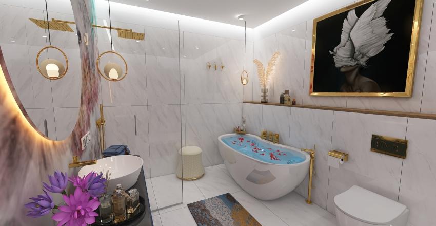 Romantic Bathrooms Interior Design Render