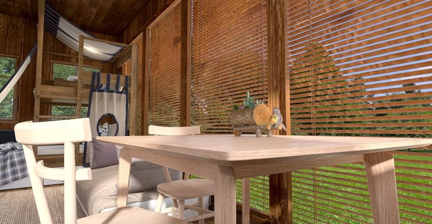 Tiny Treehouse Interior Design Render