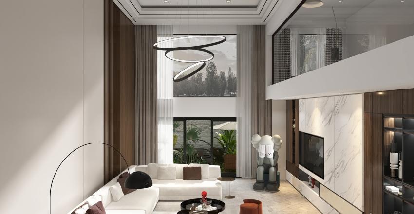 Multi Floor Demo 2 - Duplex Interior Design Render