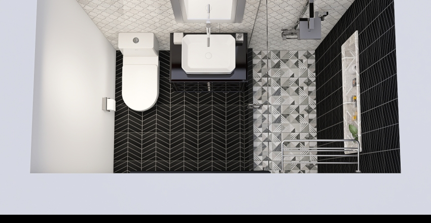 AD's Bathroom Renovation Interior Design Render