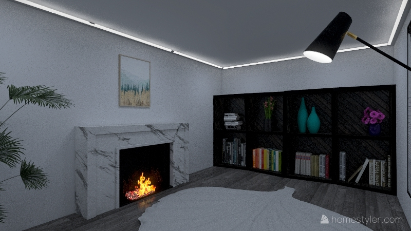 Modern Home Interior Design Render