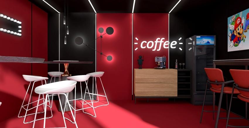 salle de jeux Interior Design Render