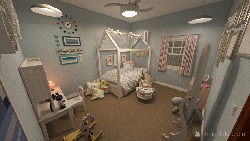 Cassidy Zaremba's House Plan Project Interior Design Render