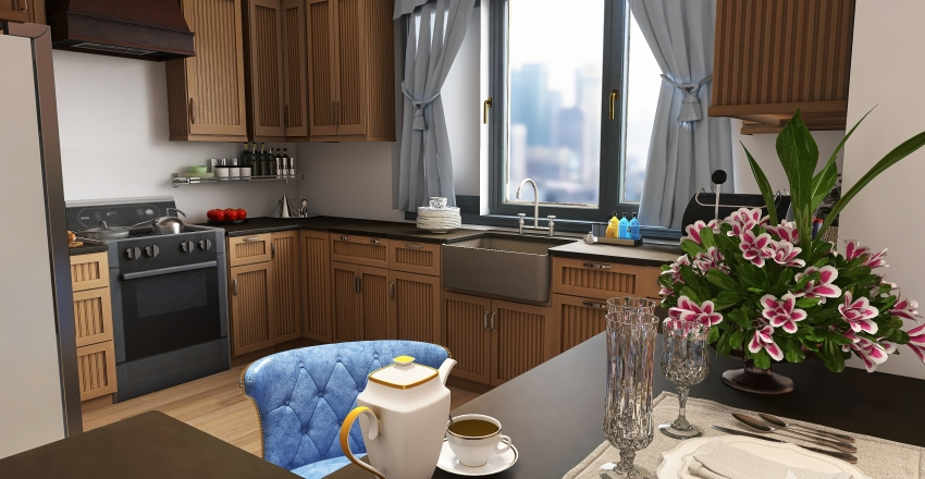 Kuzu's Home Interior Design Render