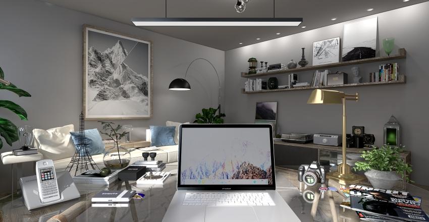 Appartamento Marte Interior Design Render