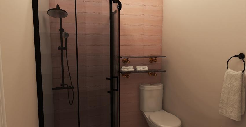 Med Cutesy Apartment Interior Design Render