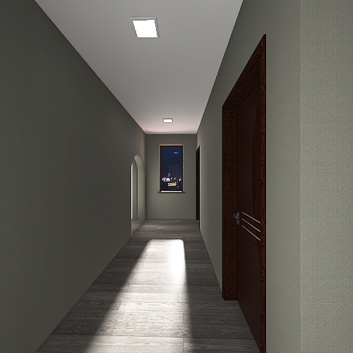 House Design Project - Evan Kishayinew Interior Design Render
