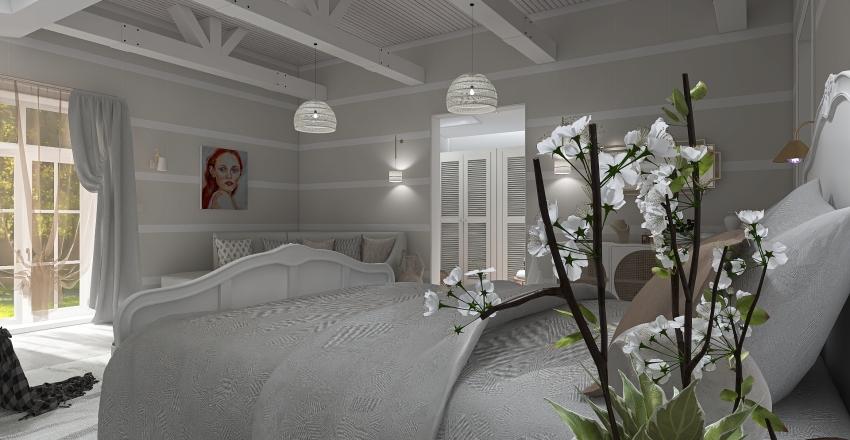 Bedroom & Bathroom Project Interior Design Render