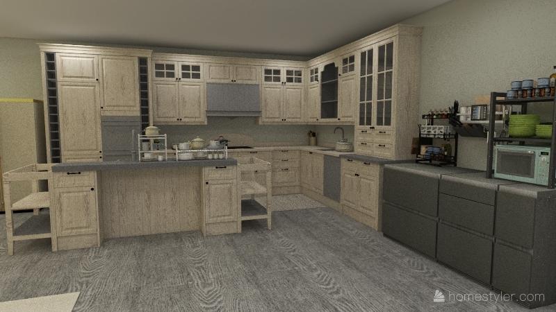 daphne Interior Design Render