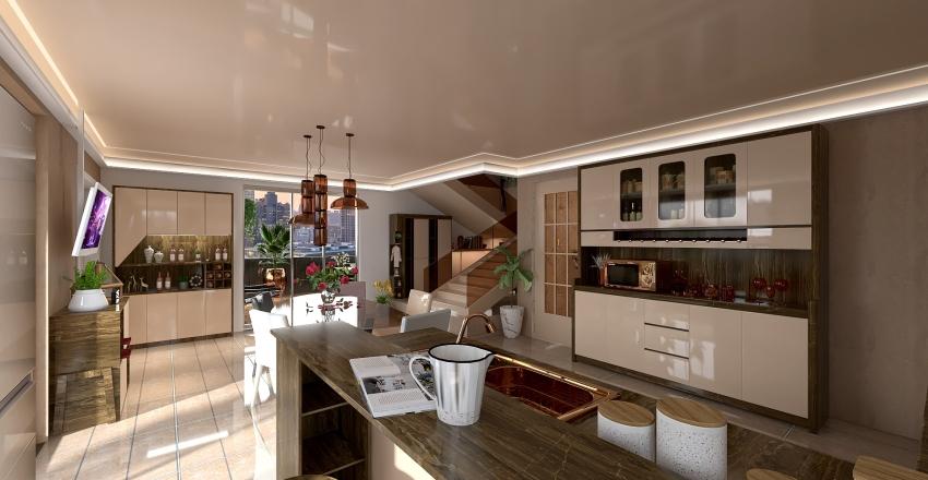 casa triplex deluxe Interior Design Render