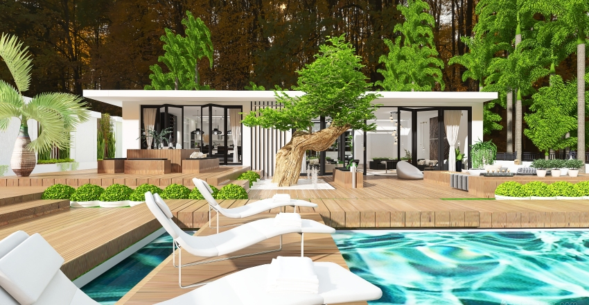 Fourth Key Luxury Interior Design Render