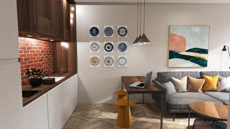 ЖК Метрополис2 Interior Design Render