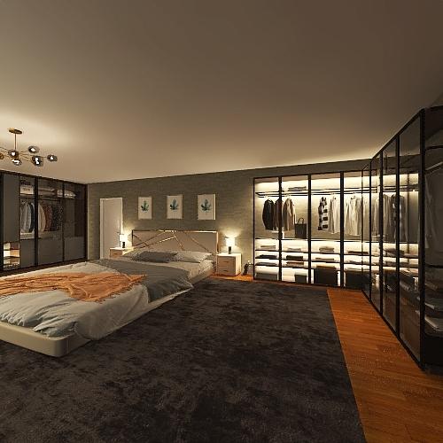 hjkk Interior Design Render
