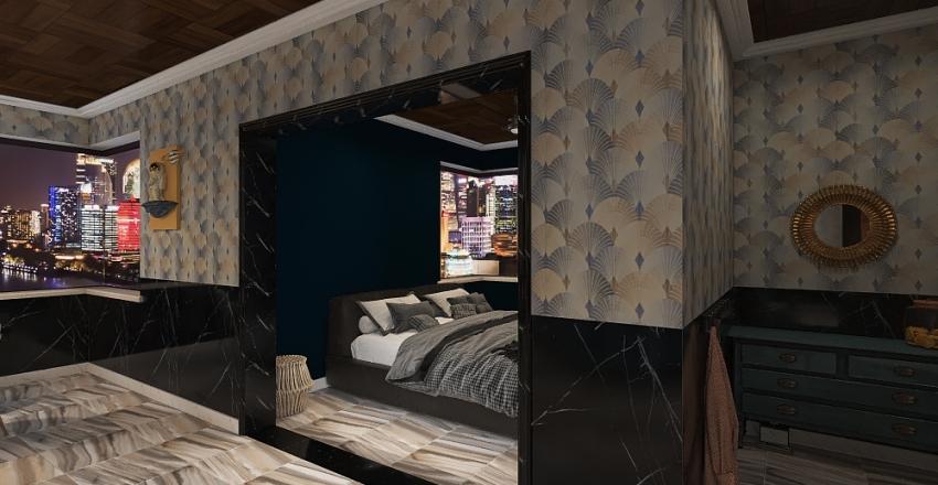 Studio, Student housing Interior Design Render