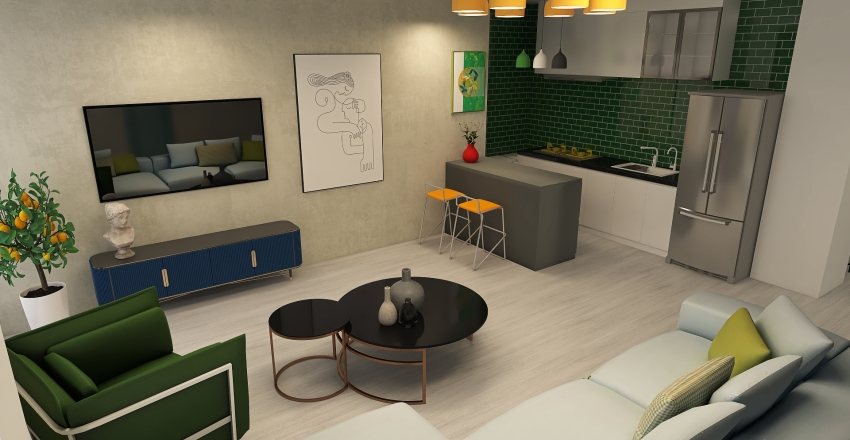 magda danelia 1 Interior Design Render