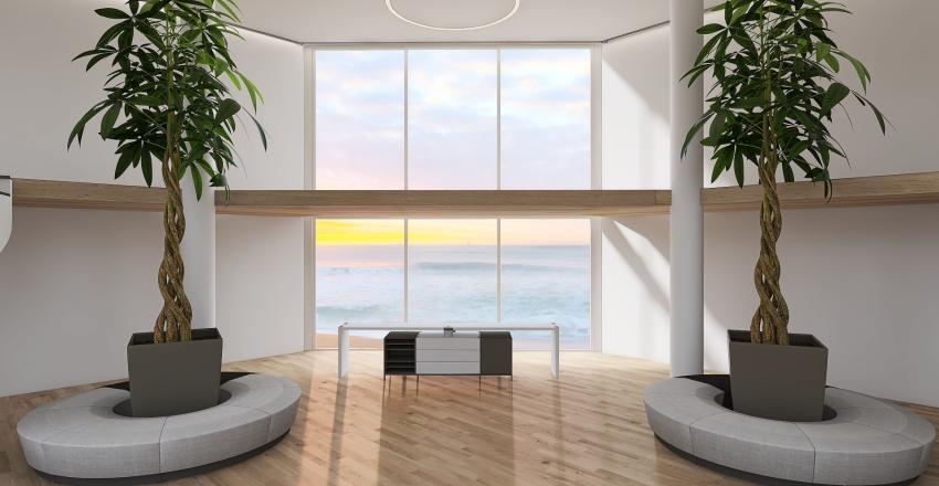 Residence - Lobby Interior Design Render