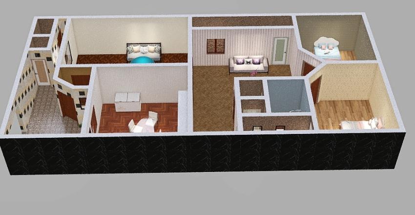Mohammed 2 model Interior Design Render