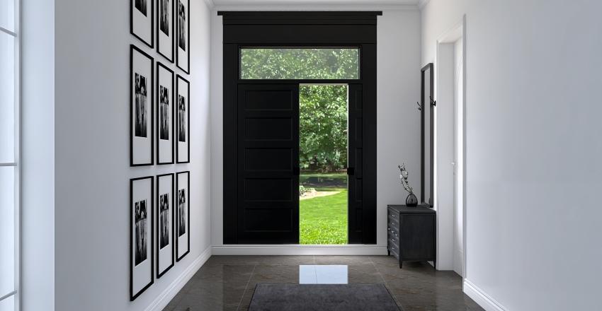 Shtepi nje kateshe Interior Design Render