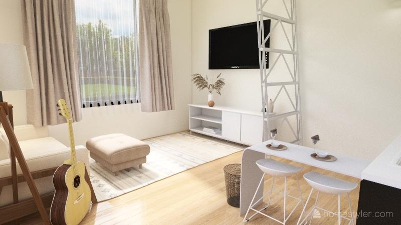 FCS tiny home Interior Design Render