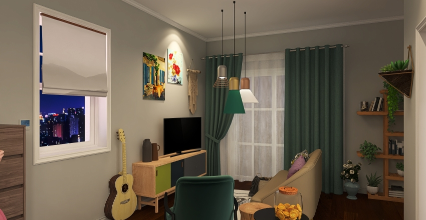 ECHOUSE Interior Design Render