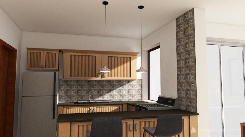 Copy of Casa de Warde - Cozinha 4 Interior Design Render