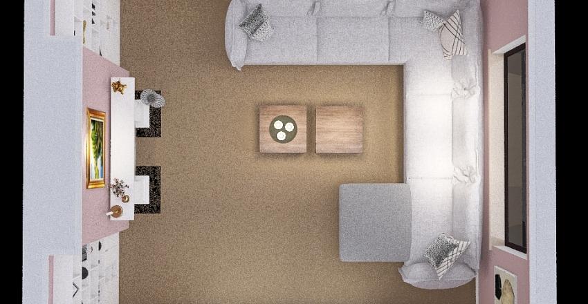Front Room Interior Design Render