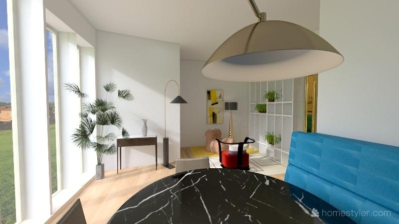 salotto dany Interior Design Render