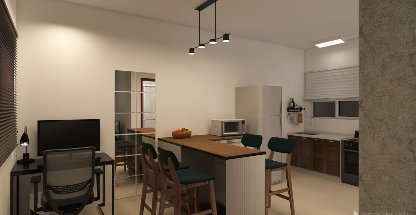 Rua Primicias Interior Design Render