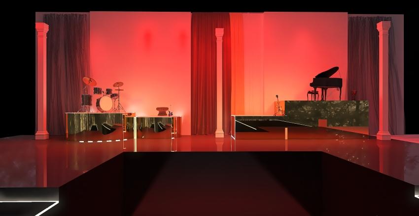 Stage Interior Design Render