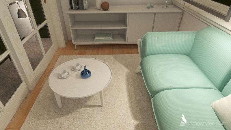 Baby Blues Interior Design Render