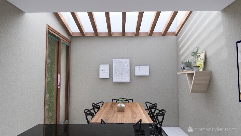 Churrasqueira / Edícula ideia 03 Interior Design Render