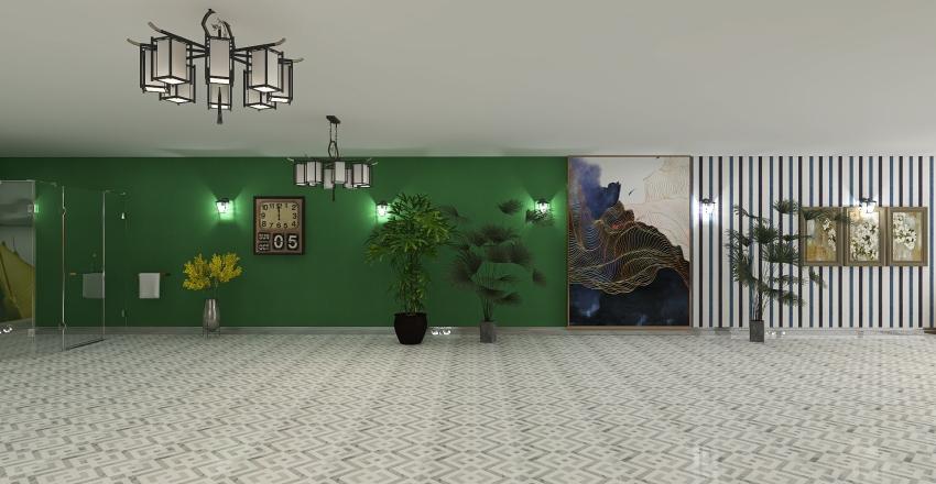 Apartamentowiec. Interior Design Render