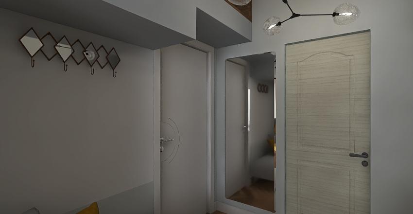 Maksymalne wykorzystanie przestrzeni Interior Design Render